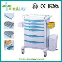 China Plastic Medical Drug Delivery Trolley on sale