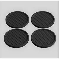 Quality Wine cup coasters rubber silicone soft pvc for sale