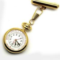 Quality Vintage metal nurse watch Aerowatch NS2104 Gold plated for sale