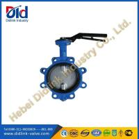 Cast Iron Full Lug Type Butterfly Valve application in industry, 4 inch butterfly valve