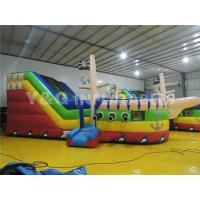 Quality INFLATABLE SLIDE Pirate ship inflatable slide YS-08 for sale