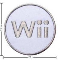 Nintendo Wii Game Style-2 Embroidered Sew On Patch