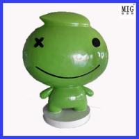 toy super large size of website brand mascot statue as company image promotion