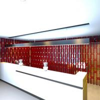 China Soundproofing Polyester Fiber Sound Absorption Room Divider on sale