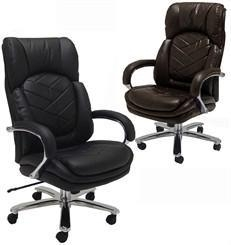 Buy 500 Lbs. Capacity Leather Executive Big & Tall Chair at wholesale prices