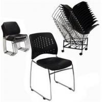 Quality 300 lb. Capacity Premium Ganging Stacking Chair for sale