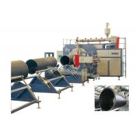 Quality HDPE winding pipe production line for sale