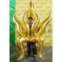 Quality Parade Golden Inflatable Fire Costume for Event Party Decoration for sale