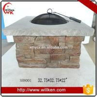 Quality Animal Statues MGO fire pit table outdoor gas fire pit for sale for sale