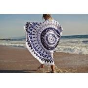 Full Reactive Printing Customized Round Beach Towels