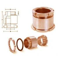 Quality Aluminium Components Brass Marine Cable Glands for sale