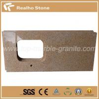 Golden Yellow G682 Granite Countertops For Kitchen And Bathroom