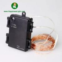 Quality Waterproof battery box bike copper wire string light for sale