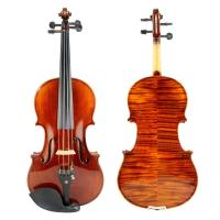 Violin Advanced Violin with selected flame maple