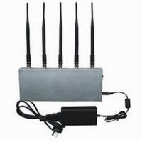 China 5 Band Cell Phone Signal Blocker Jammer on sale