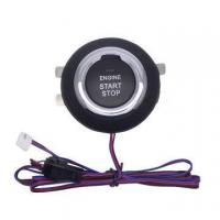 China One Touch Engine Start Stop Button with Remote Start Car Alarm System on sale