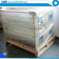 Quality Corona treated polyester film for releasing for sale
