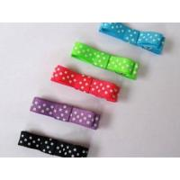 Quality Clips and Bitty bow Item NO:Swiss dots clip for sale