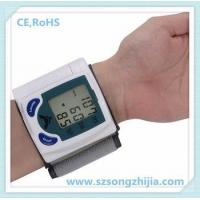 Quality intelligent wrist watch digital blood pressure monitor with high quality for sale