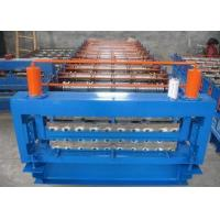 Metal Roofing Sheet Double Layer Roll Forming Machine With CE / SGS Certificates