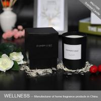 Luxury natural scented candle in glass jar -WNJ17266