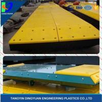 China UHMW PE Marine Fenders with Lowest Water Absorption-a Shock Resistant Plastic on sale