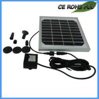 China Solar Powered Water Features Pump For Small Gardens on sale