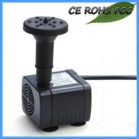 China Solar Powered Water Pond Pump With Battery Inside Feature on sale