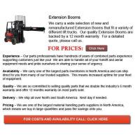 Quality Extension Booms for Forklift for sale