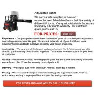 Quality Adjustable Boom for sale