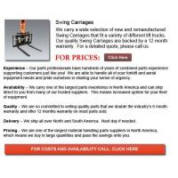 Quality Swing Carriage for sale