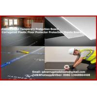 Quality CORFLUTE 2440mmx1220mm Black Floor Protection for sale