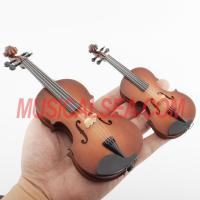 Quality Miniature violin mini cello toy christmas ornament craft Musical Instrument for sale