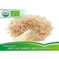 Buy cheap Organic Brown rice protein from wholesalers
