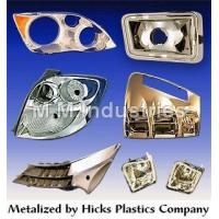 Quality Molded Plastic Components Metalizing Service for sale