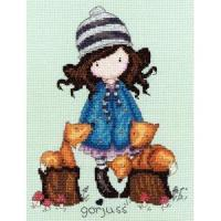 Quality Cross Stitch The Foxes for sale