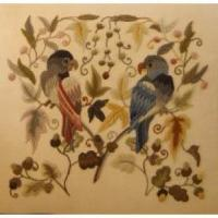 Buy cheap Crewel Embroidery Mellerstain Parrots from wholesalers