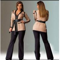 Buy cheap YY-PL0905 New winter solid color stitching work wear from wholesalers