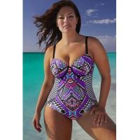 Buy cheap YY-PW0092 one piece bikini swimsuit for fat lady from wholesalers