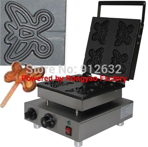 Buy waffle iron stainless steel butterfly waffle maker electric waffle machine snack machine at wholesale prices
