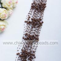 3*8MM beaded garland wire pearl beaded spray with--YZB002- 19