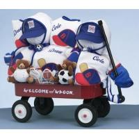 Quality Personalized Baby Gifts Boys Deluxe Welcome Wagon Personalized Gift For Twins for sale