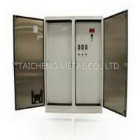 Buy cheap OEM Stainless Steel Electrical Outdoor Control Panel Cabinets from wholesalers