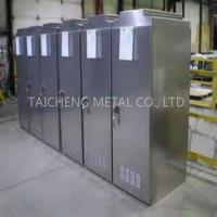 Buy cheap Custom Made OEM Electrical Stainless Steel Outdoor Cabinets from wholesalers