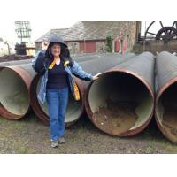 Buy cheap Agricultural (ALL SOLD) Large Diameter Steel Pipe 40 inch Outside Diameter (ALL SOLD) from wholesalers