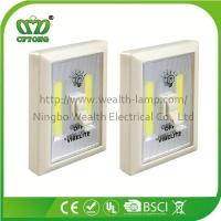 Promotion Magnetic Velcro Plastic 6W COB LED Wall Switch Light with CE RoHS BSCI