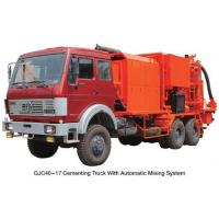 Quality Drilling and Workover Equipment Cementing Unit with Single Engine & Single PumpBR for sale