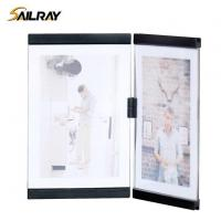 Quality 7 Inch Leggy Horse Black Acrylic Collage Photo Frame for Home Decoration Two Piece Sets for sale