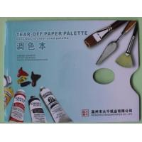 China 60g 9x12 36 tear-off paper palette on sale