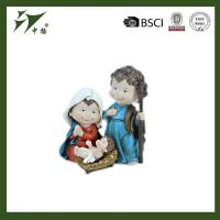 China Hot family nativity religious resin crafts christmas decorations on sale